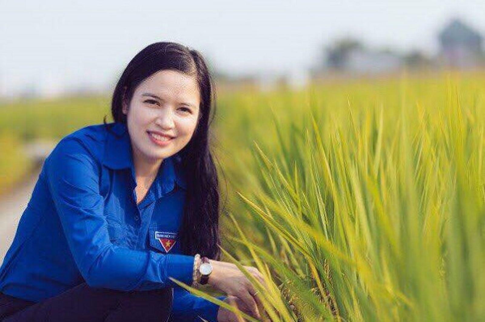Chị Đinh Thị Hoàn, Phó Chủ tịch Hội Doanh nhân trẻ tỉnh