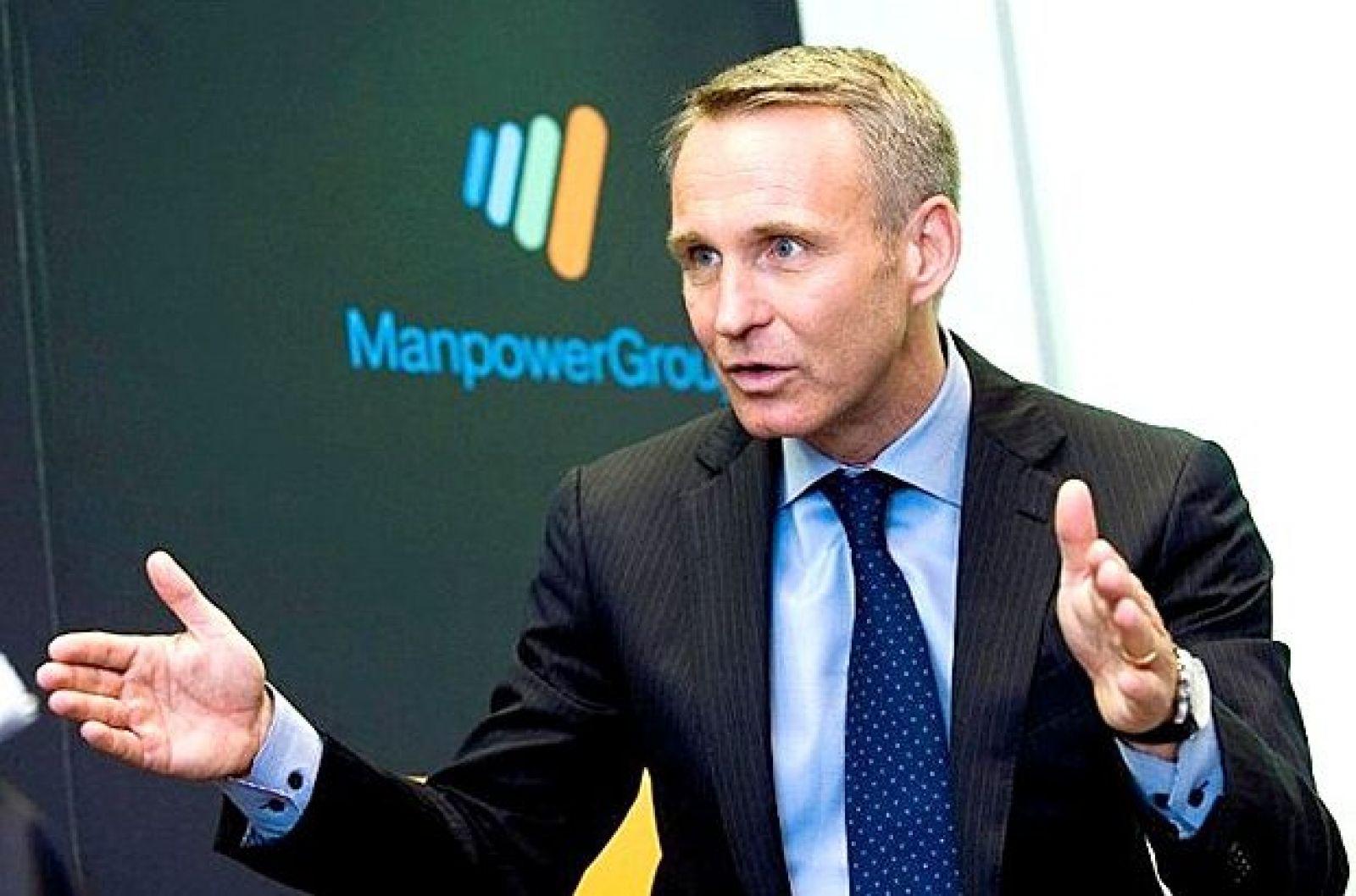 Ông Jonas Prising, CEO Tập đoàn đa quốc gia tư vấn nguồn nhân lực ManpowerGroup