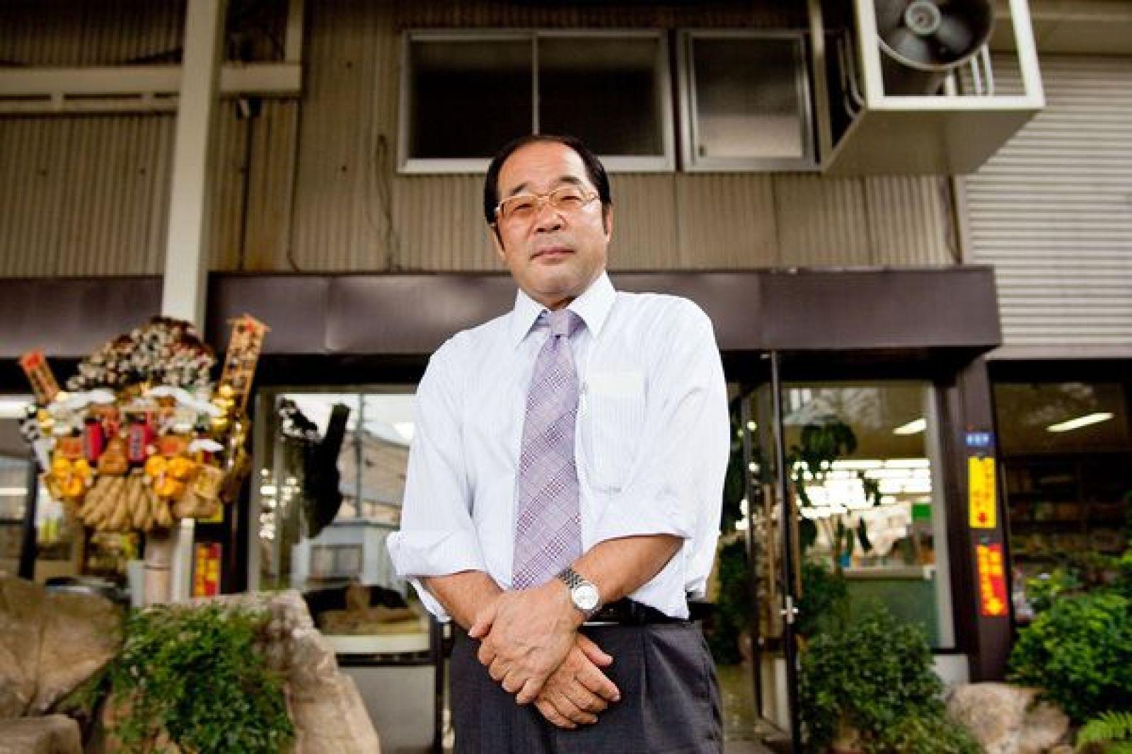 Ông Hirotake Yano, nhà sáng lập kiêm Chủ tịch của Daiso Sangyo Corp. - Ảnh: Daiso Sangyo/Bloomberg.
