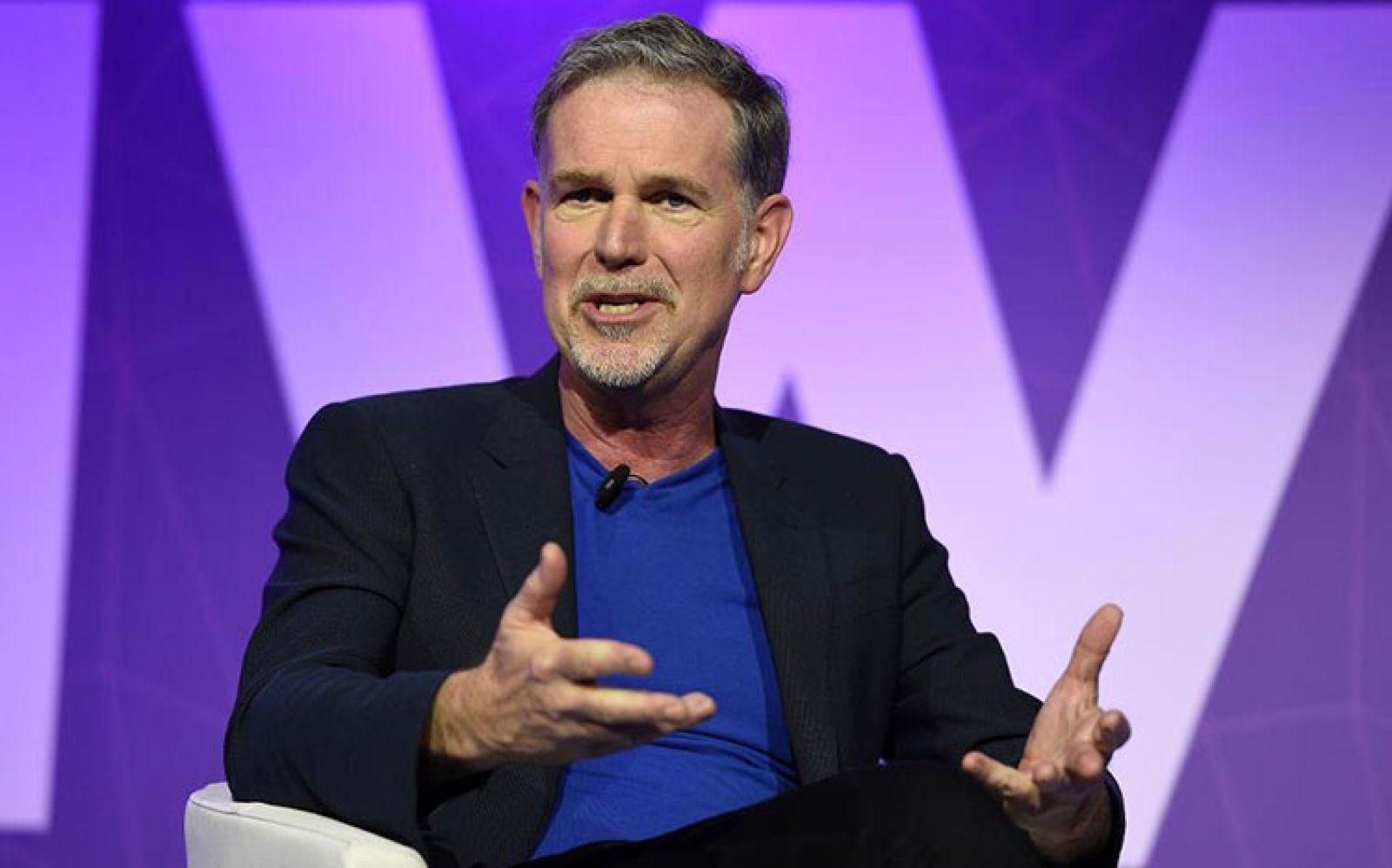 Reed Hastings - nhà đồng sáng lập, CEO Netflix. Nguồn: Getty Images