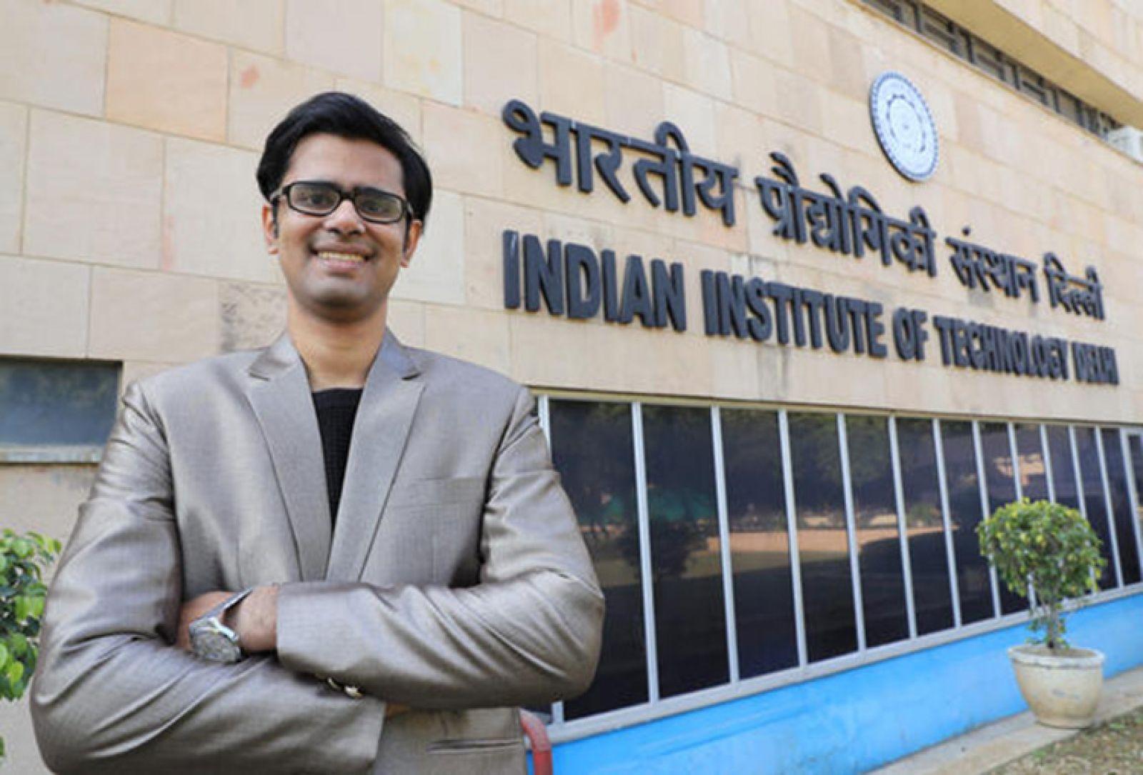 Prateek Sharma - CEO của startup Nanoclean Global - nhận được nhiều sự hỗ trợ từ Viện Công nghệ Ấn Độ ở Delhi. Ảnh: Mamoru Yago/Nikkei Asian Review