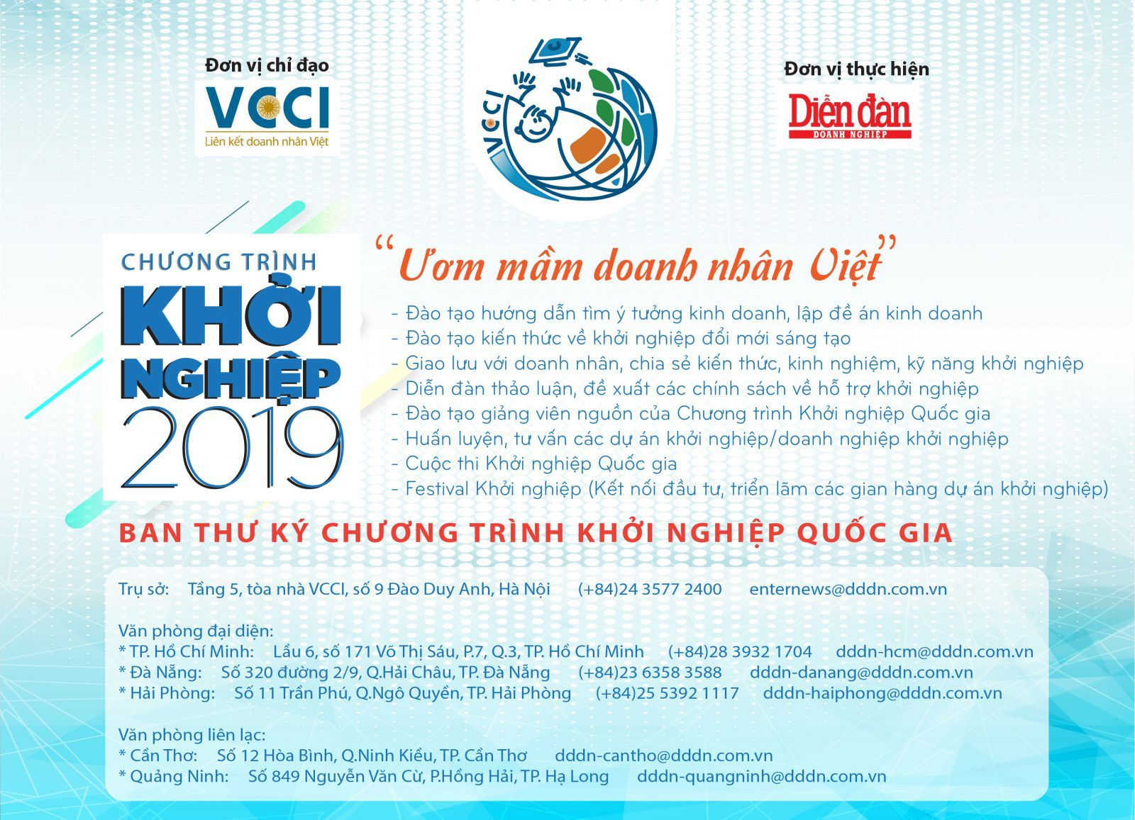 Cuộc thi Khởi nghiệp Quốc gia 2019