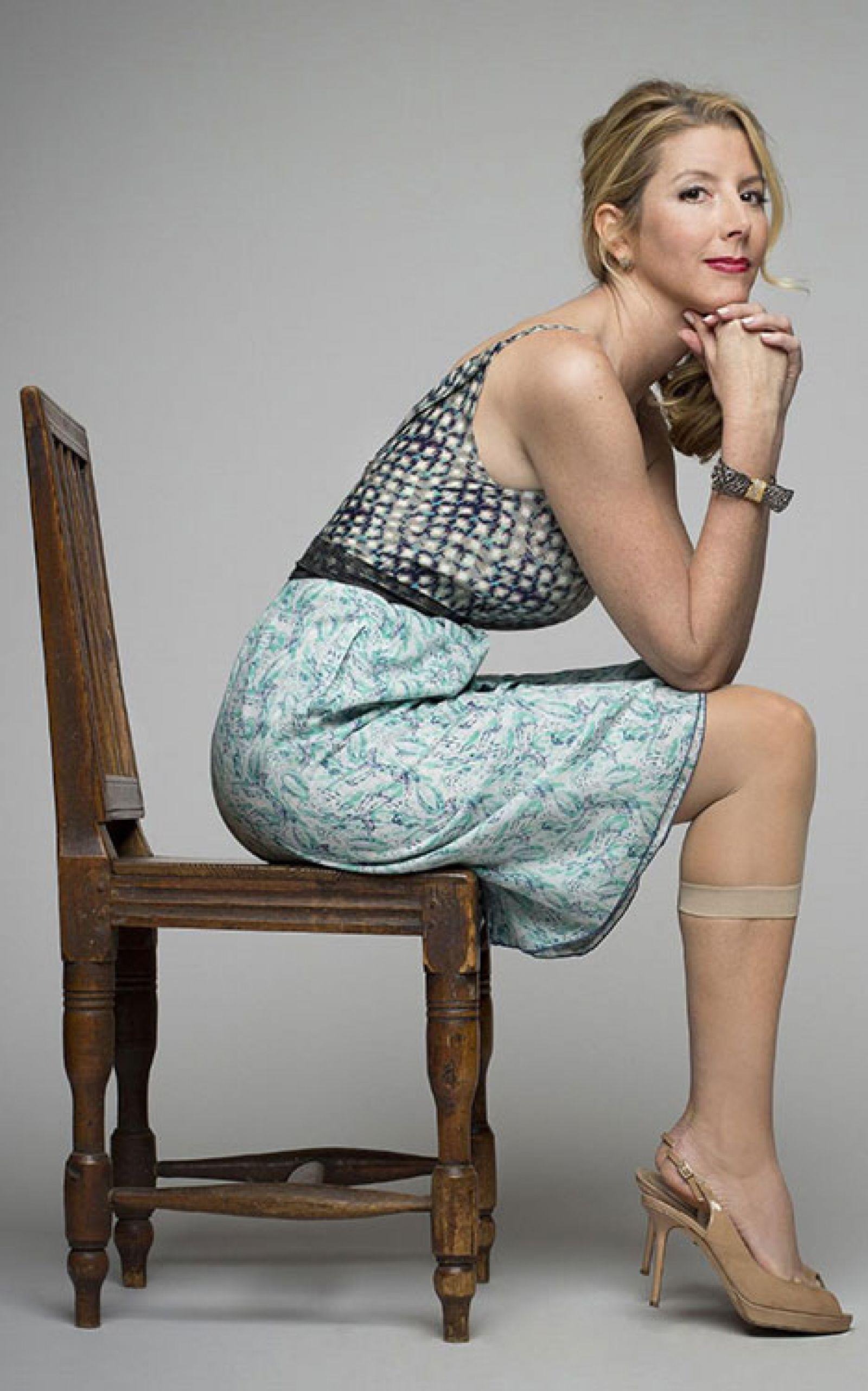Sara Blakely - nhà sáng lập Hãng đồ lót Spanx. Nguồn: Getty Images