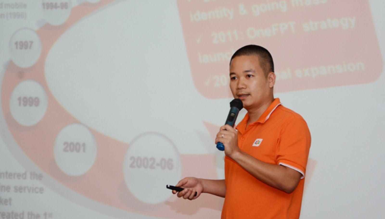 """Anh Trần Hữu Đức cho rằng, điểm yếu """"cốt tử"""" của khởi nghiệp sáng tạo Việt là thiếu kinh nghiệm thực tế."""