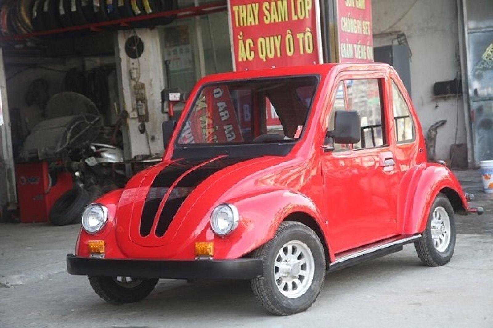 chiếc xe made in Ngô Việt Cường.
