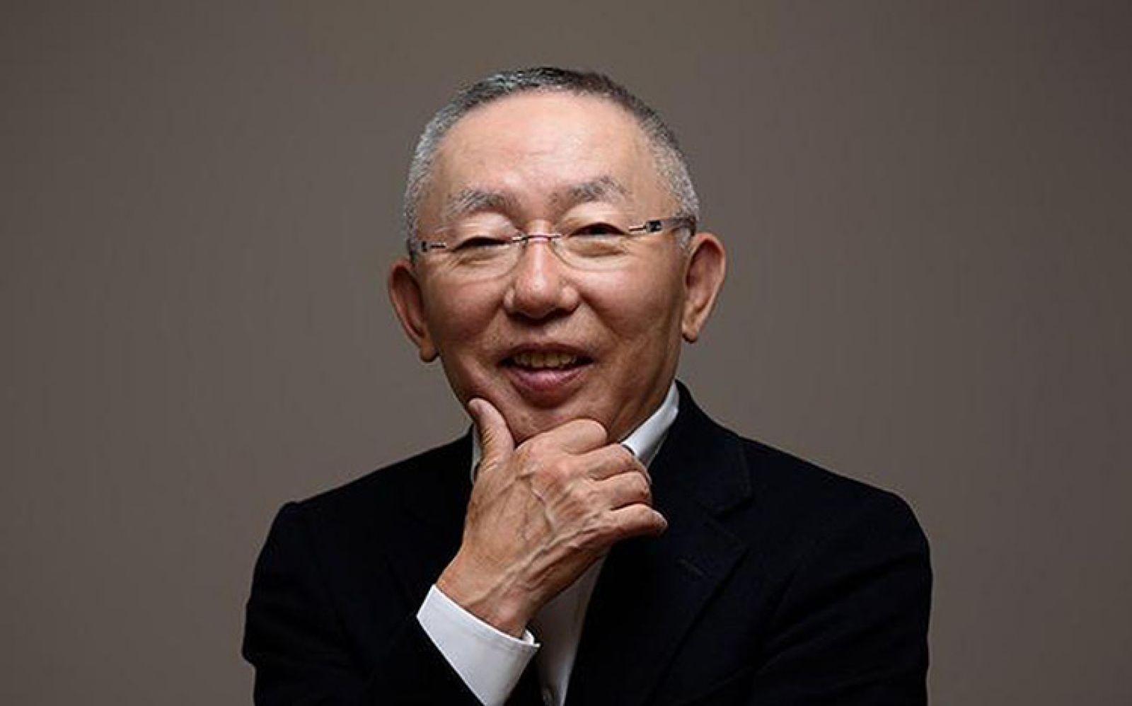 Tadashi Yanai - nhà sáng lập, CEO thương hiệu thời trang Uniqlo. Ảnh: Forbes
