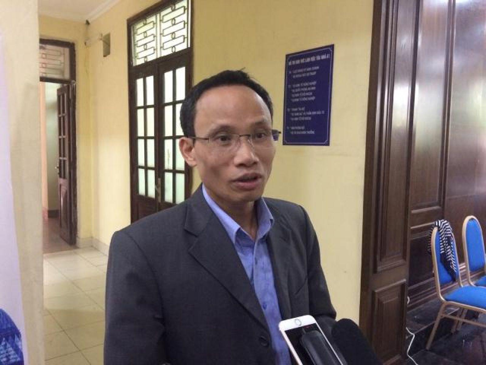 ông Cấn Văn Lực –Chuyên gia kinh tế trưởng BIDV. Ảnh: Nguyễn Việt