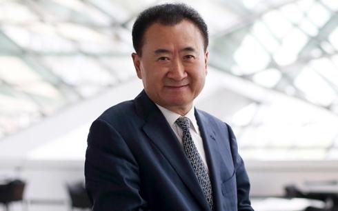 Tỷ phú Wang Jianlin nổi danh trên thương trường bất động sản Trung Quốc.
