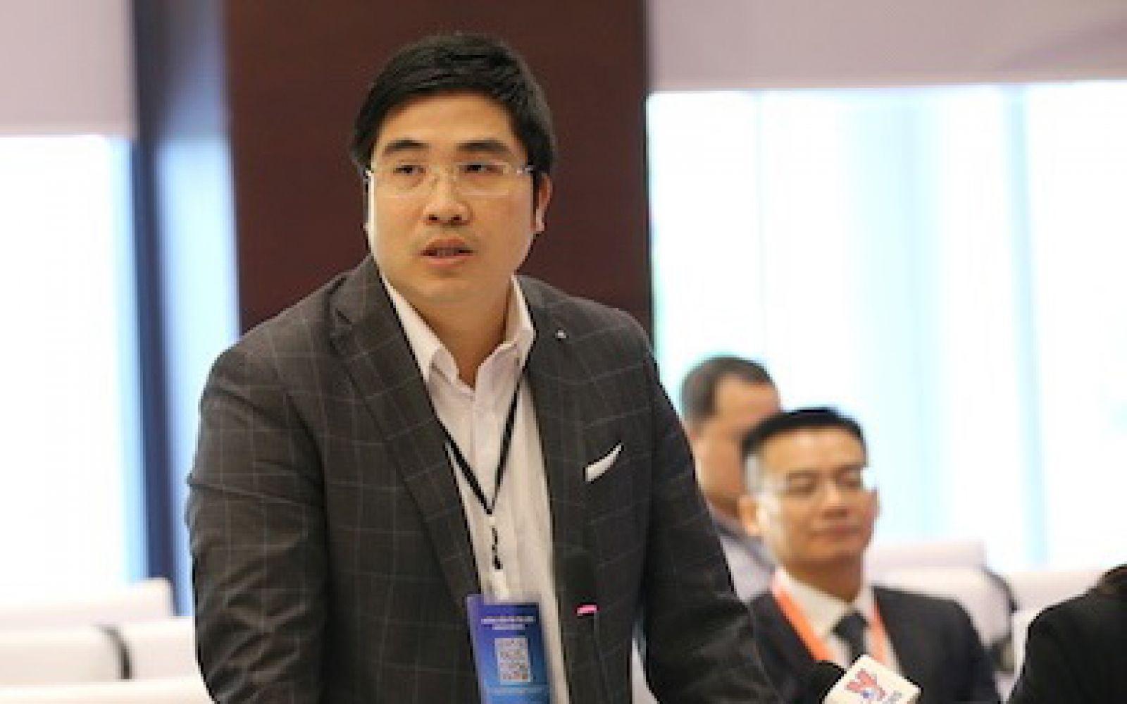 Ông Nguyễn Trung Dũng, Tổng giám đốc BK-Holding