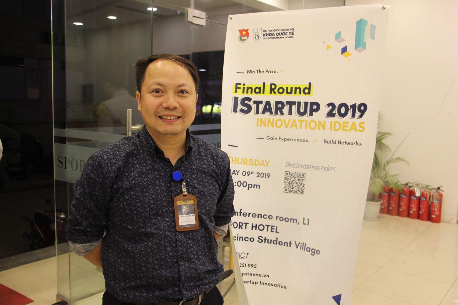 TS. Nguyễn Trung Hiển - Trưởng phòng Công tác học sinh sinh viên