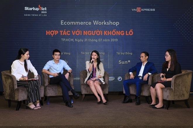Nhiều đất cho startup hợp tác với những gã khổng lồ e-commerce - 2