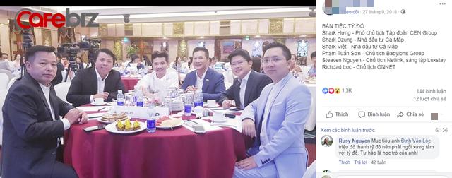 Nghi vấn dàn cá mập là chỗ thân quen với startup vừa nhận được deal 6 triệu USD Luxstay: Lộ hình ảnh Shark Hưng, Shark Việt cùng Shark Dzung trong sự kiện của Luxstay năm ngoái - Ảnh 3.