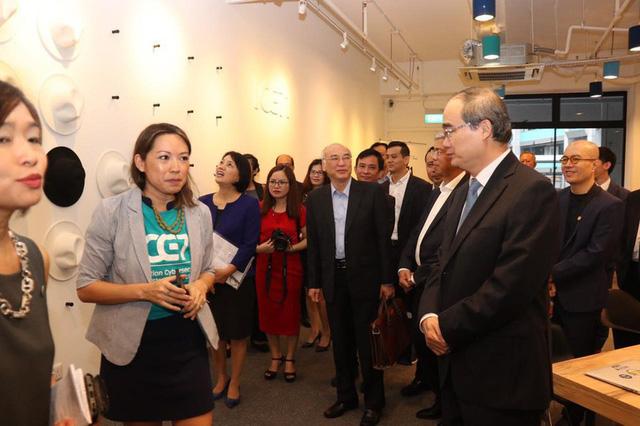 Singapore sẽ giúp TP.HCM đào tạo các công ty khởi nghiệp - Ảnh 4.