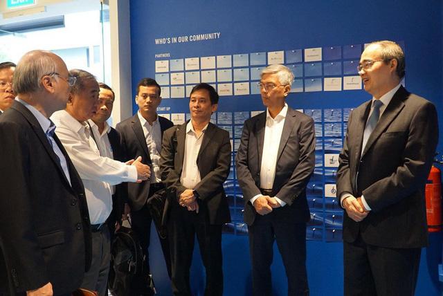 Singapore sẽ giúp TP.HCM đào tạo các công ty khởi nghiệp - Ảnh 2.