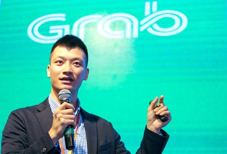 Ông Nguyễn Quốc Huy - Giám đốc Phát triển Kinh doanh và Đối tác của Grab Việt Nam. Ảnh: Quỳnh Trần.