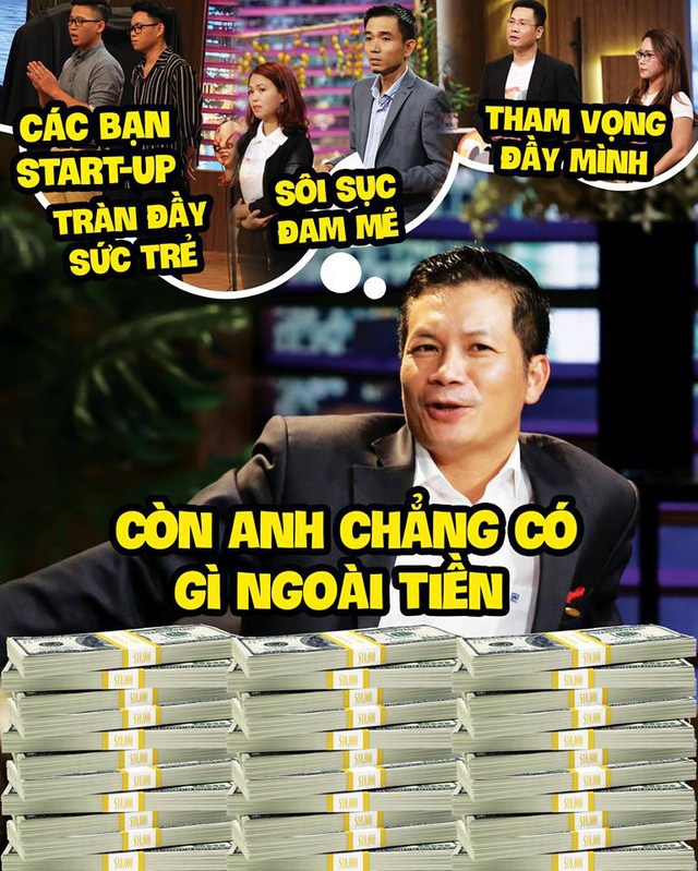 [Thống kê Shark Tank mùa 3] Tổng vốn rót 22 triệu USD, mình Shark Việt 'cân' gần phân nửa, có cá mập ghế nóng không cam kết rót đồng nào, thống kê cho thấy Shark Bình chỉ chuyên đi ké - Ảnh 2.
