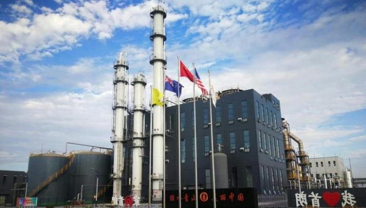 Nhà máyđầu tiên của LanzaTech tại Trung Quốc. Ảnh: CNN.
