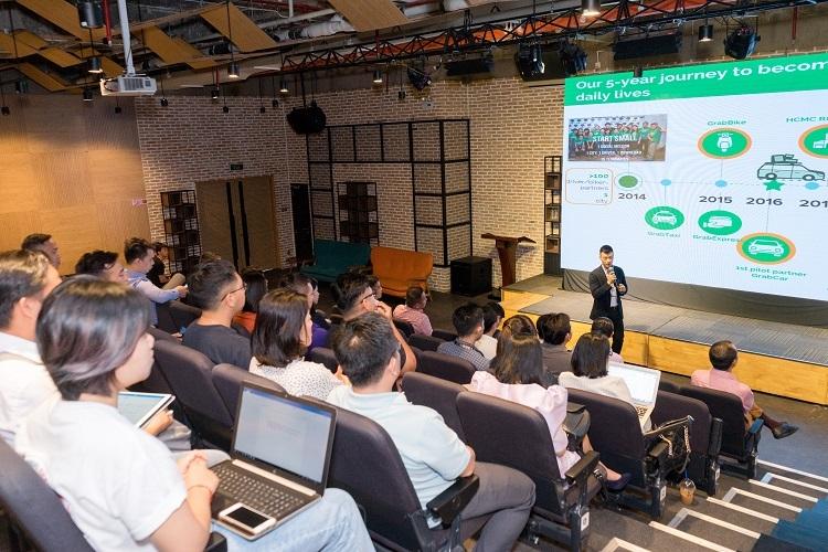 Đại diện Grab Việt Nam chia sẻ về hành trình thành công của siêu ứng dụng.
