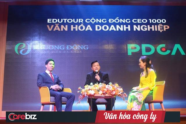"""Chủ doanh nghiệp hỏi nên lãnh đạo theo """"pháp trị"""" hay """"nhân trị"""", Shark Việt trả lời: Cầu thủ giỏi phải đá bóng tốt cả hai chân, nhưng phải đặt ra luật chơi trước tiên - Ảnh 1."""