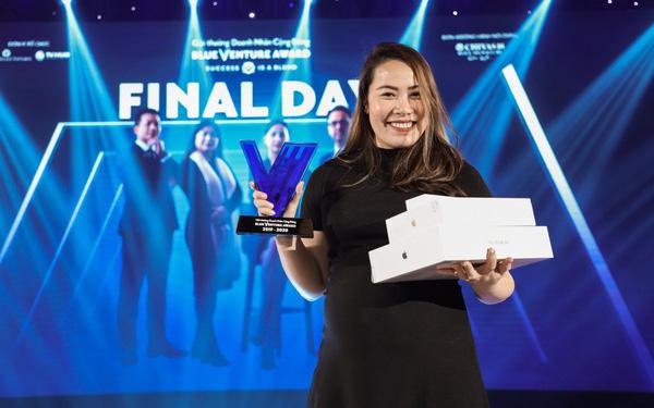 Startup sản xuất protein từ dế với năng suất 45 tấn/tháng và xuất khẩu ra 12 nước Cricket One, vừa giành giải nhất cuộc thi Doanh nhân cộng đồng – Blue Venture Award mùa 2