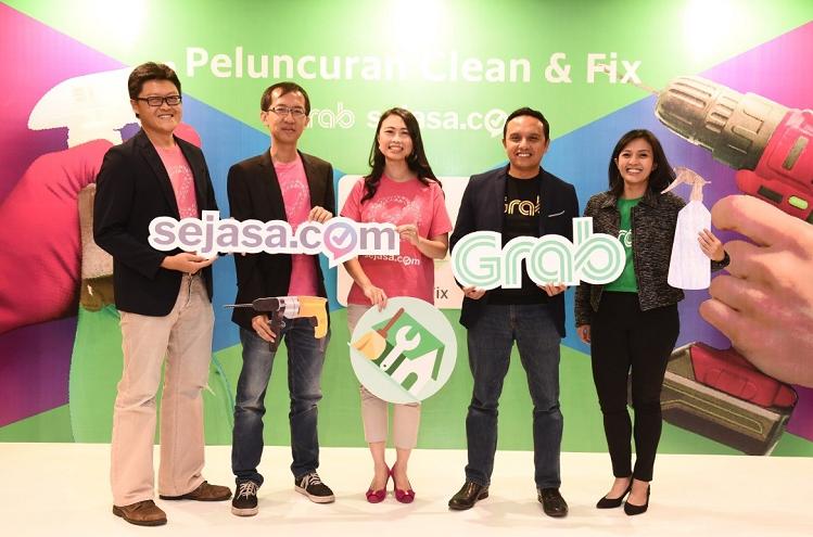 Nền tảng đặt dịch vụ Sejasa làmột trong những startup nhận hỗ trợ từ Grab Ventures.
