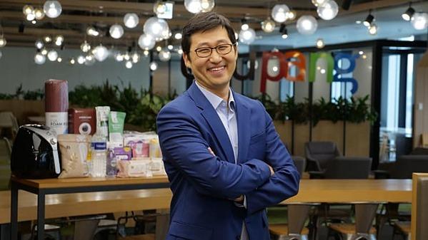 Bom Kim, người sáng lập và CEO của trang thương mại điện tửCoupang. Ảnh: CNBC.