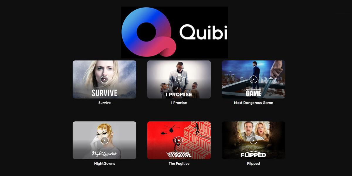 Quibi ra mắt vào tháng 4 với vốn 1,75 triệu USD.